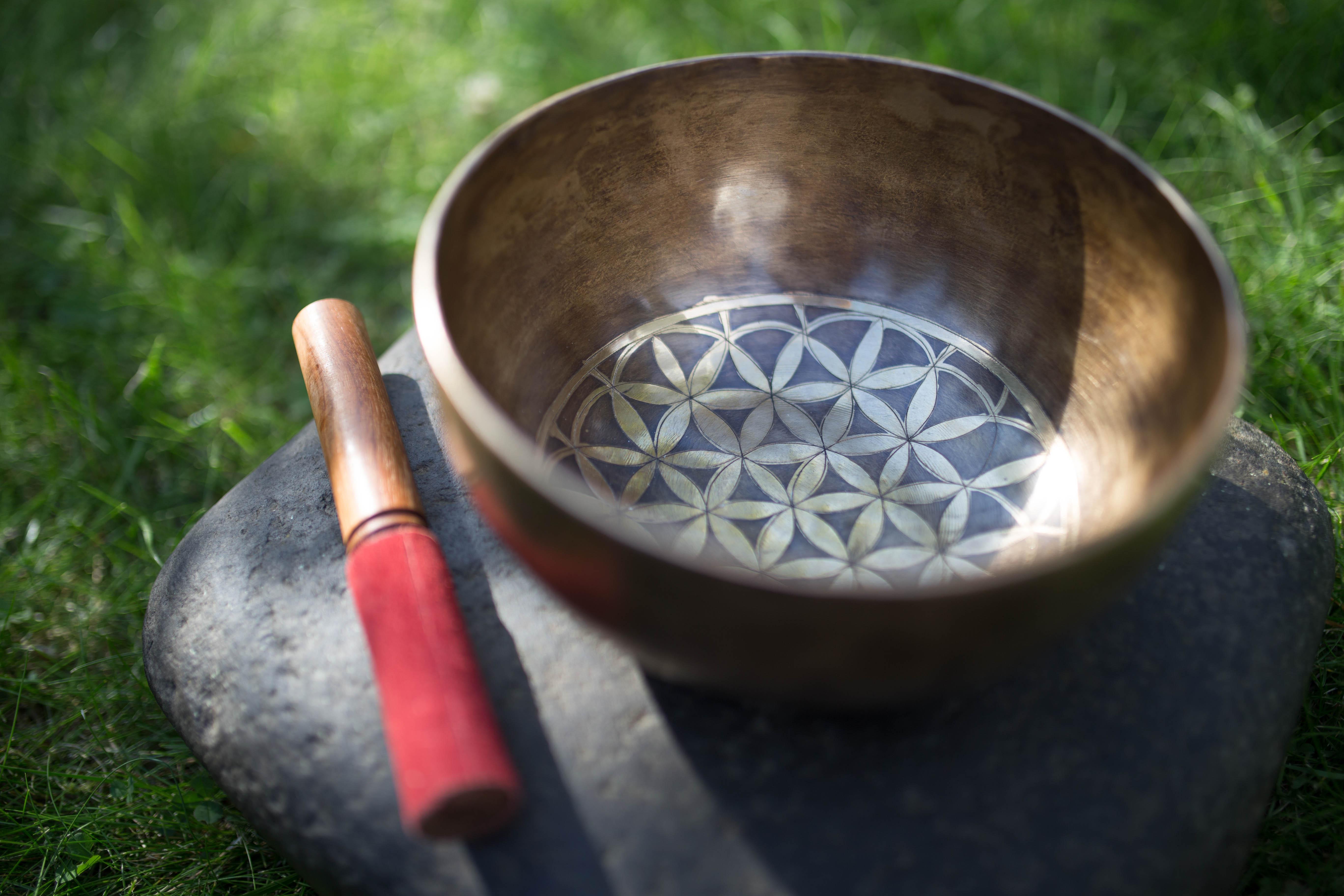 Klangschale der Traditionellen Chinesischen Medizin